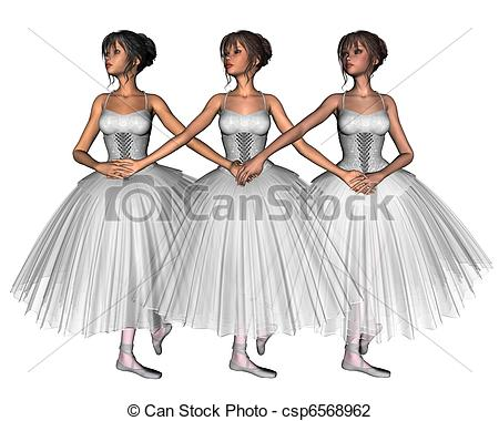 Ballerine clipart swan lake Cygnets Ballet Swan three as