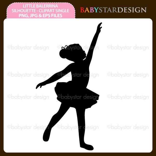 Ballerine clipart template Via Single Etsy 50 Clipart