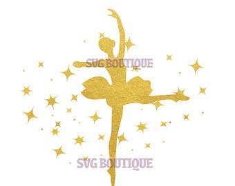 Ballerina Etsy Cutting SVG Svg