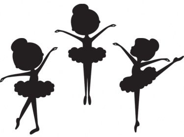 Ballerina clipart simple #11