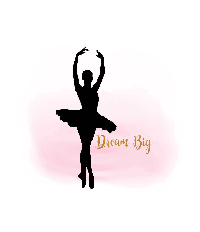 Ballet clipart ballerina  Dream This Girl SVG