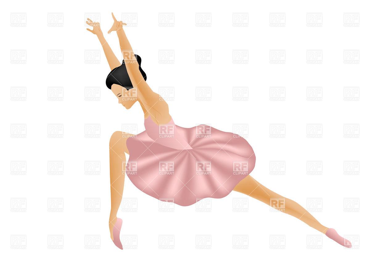 Ballerina clipart modern dancer #7
