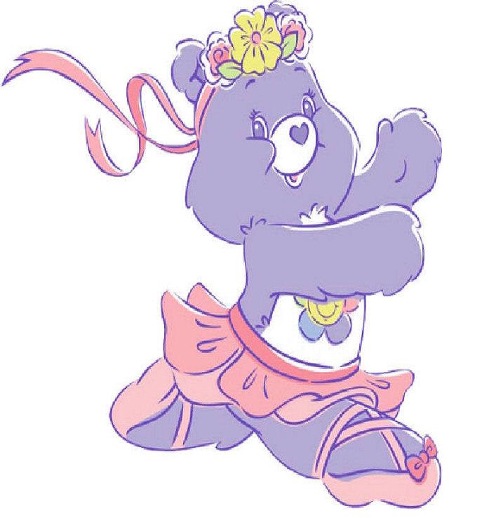 Bear clipart grizzley Ironon Bear All Dance Fabric