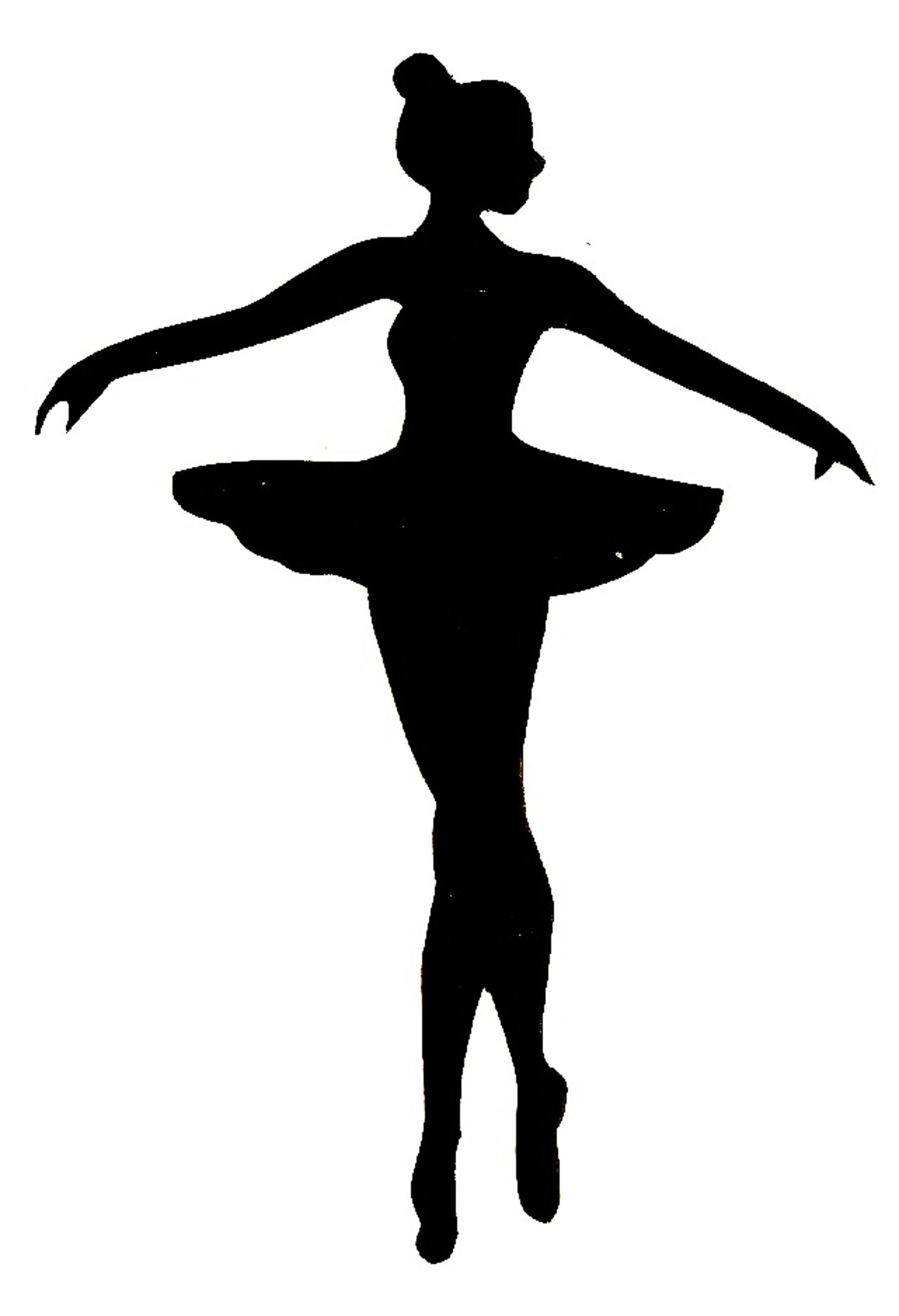 Ballet clipart black and white Ballerina clip clip Ballerina info