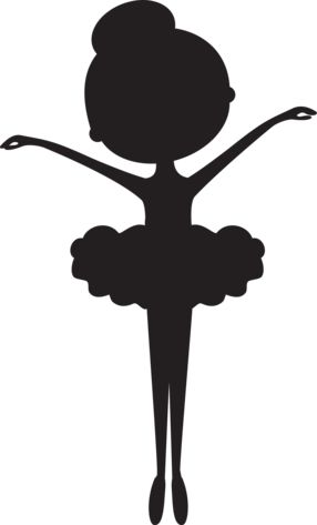 Ballet clipart black and white Ideas Ballerina silhouette on Pinterest