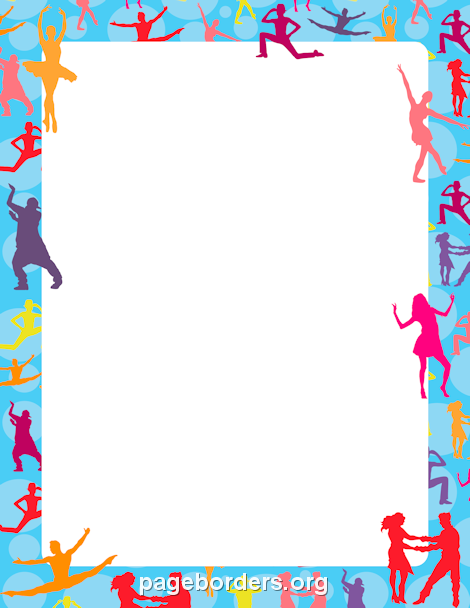 Shoe clipart border Flyers border Use for in