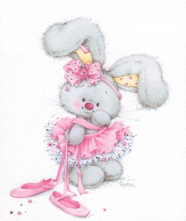 Ballet clipart bunny Pinterest y Bunny para Infantiles