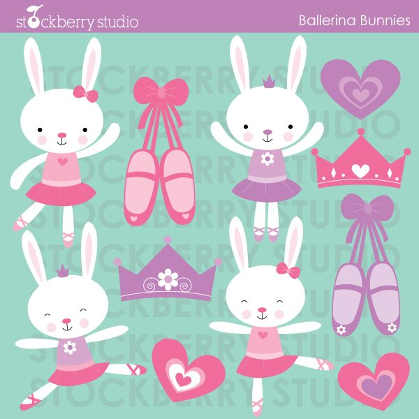 Ballet clipart bunny Best clip Ballerina 17 on