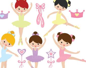 Carneval clipart ribbon Ballet Clipart clipart Etsy class