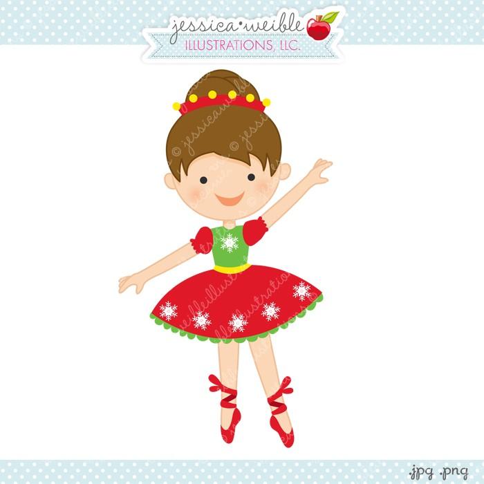 Ballet clipart christmas Ballet art Christmas ballerina christmas