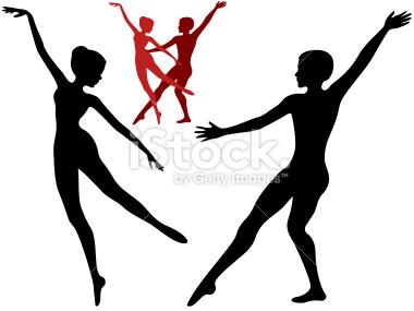 Ballet clipart contemporary dancer Modern Clipart Clipart Free Dancer