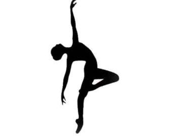 Ballet clipart contemporary dancer Silhouette Clip Silhouette Clip Contemporary