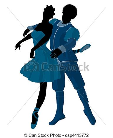 Ballet clipart couple  Clip Couple csp4413772 Couple