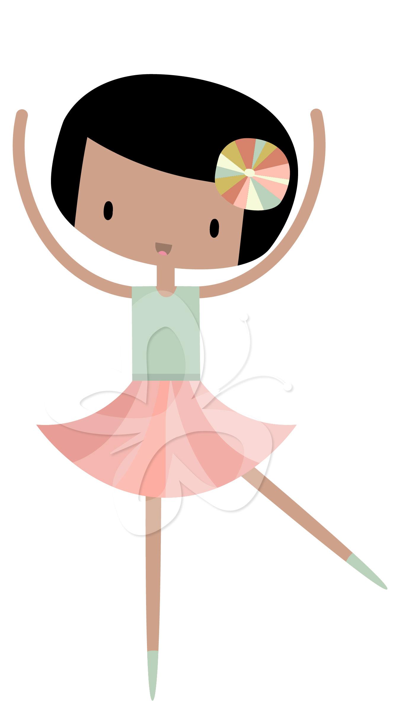 Ballet clipart cute ballerina Clipart Cute Creative clipart ballerinas