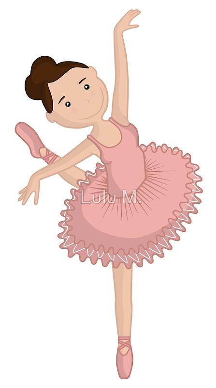 Ballet clipart cute ballerina  dancer art ballet /