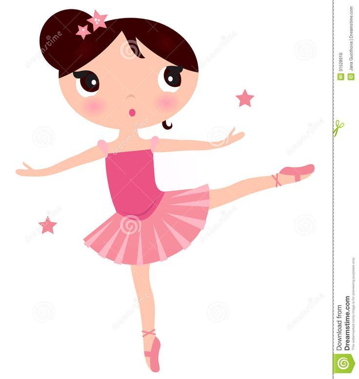 Ballet clipart cute ballerina  girl ballerina Art Beautiful