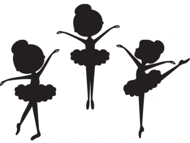 Ballerina clipart outline Dancers ballet and story Repertoire