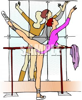 Ballet clipart dance studio – Art Art Clip Clip