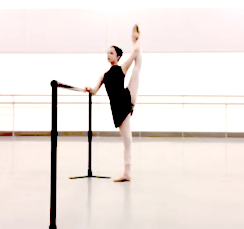 Ballet clipart flexibility Demanding More to in flexible