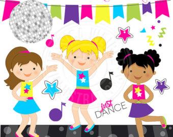 Ballet clipart kid graphic Clipart Dance Clipart Party Cute