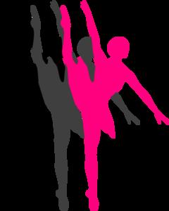 Ballet clipart modern dance Dancer vector Art Silhouette com