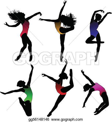 Ballet clipart modern dance · Art Dance GoGraph Modern