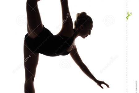 Ballet clipart modern dance Silhouettes Clip Dancer DA Female