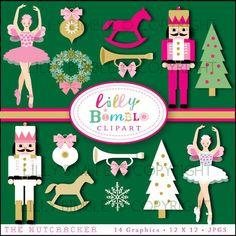 Ballerine clipart nutcracker ballet Images Christmas sugar Clip Warmup