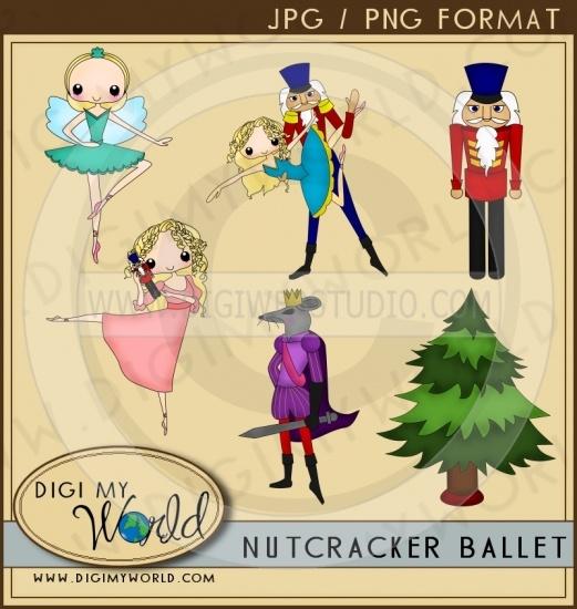 Ballet clipart nutcracker ballet Clip Ballet Pinterest images Digi