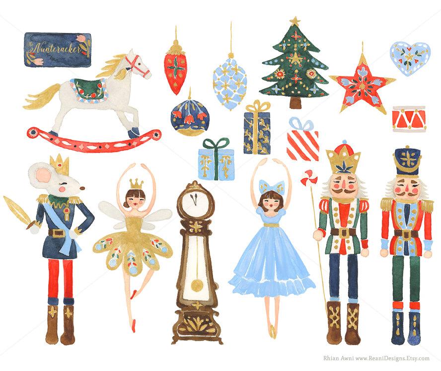 Ballet clipart nutcracker ballet Clipart Nutcracker Christmas and personal