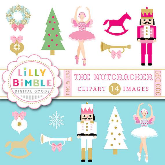 Ballerina clipart nutcracker ballet #6