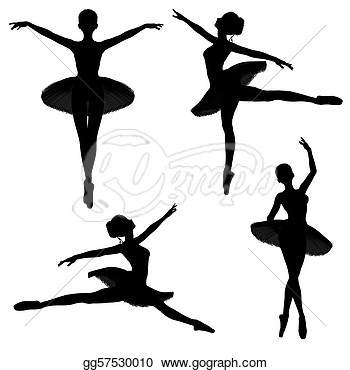 Drawing Ballet Gg57530010 Silhouettes Clipart