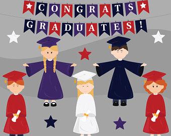 Ballet clipart preschool Digital Clipart Graduation Glitter Clipart
