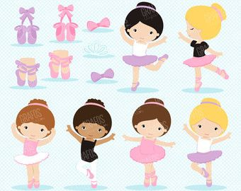 Ballerina clipart little boy Princess dance ballet clipart ballerina