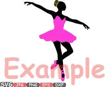 Ballet clipart ribbon Art Ballet hamhamart clipart clip