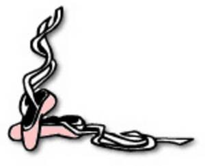 Ribbon clipart ballet #1
