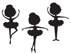 Ballet clipart shadow Silhouette Cameo For Cricut on