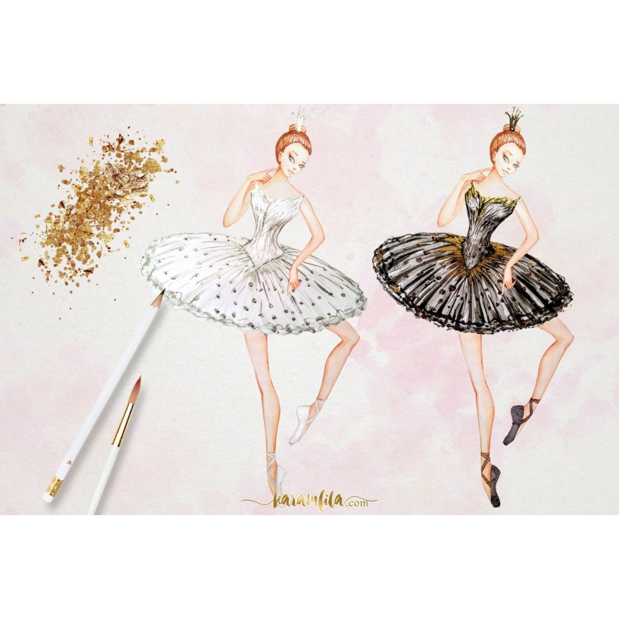 Ballet clipart swan lake ClipArt · Clipart Lake ClipArt
