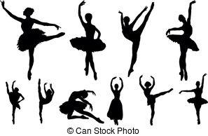 Ballet clipart swan lake Swan silhouette and Vectors Swan