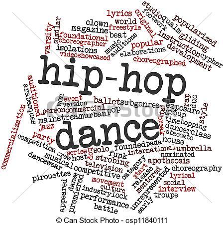Danse clipart word Csp11840111 Clipart cloud dance for