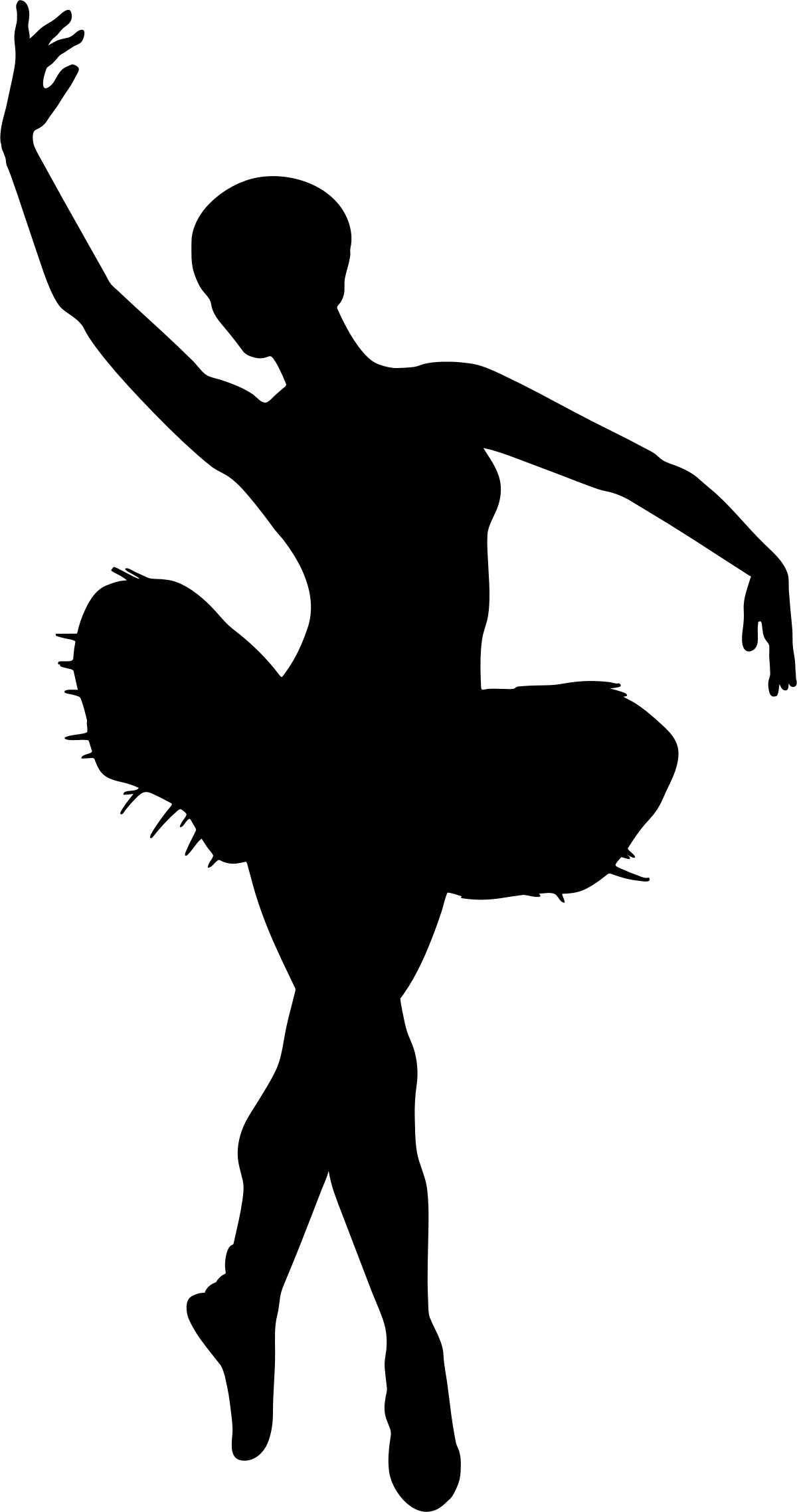 Ballet clipart transparent Png Ballet Art silhouette Free