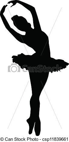 Ballet clipart vector Silhouettes Art ballet Dance Clip
