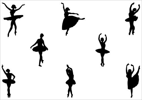 Ballet clipart vector Clip Art  Download Image