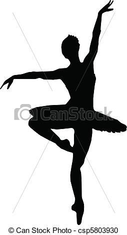 Ballet clipart vector  of vector Dance Clipart