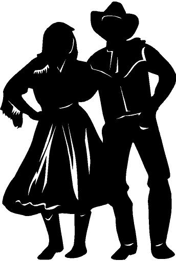 Country clipart sticker Art dancing western photo#3 Clip