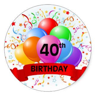 Balloon clipart 40th On Balloons 40th Birthday Balloons