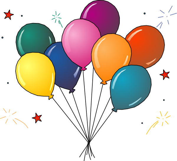 Balloon clipart Colorful Graphics Clipart Balloon Party