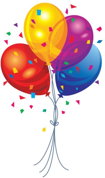 Iiii clipart balloon Pictures Art birthday images Free
