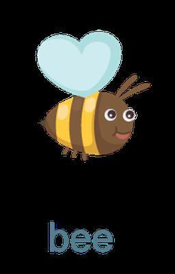 Bird clipart bee Letter Bee The Bird