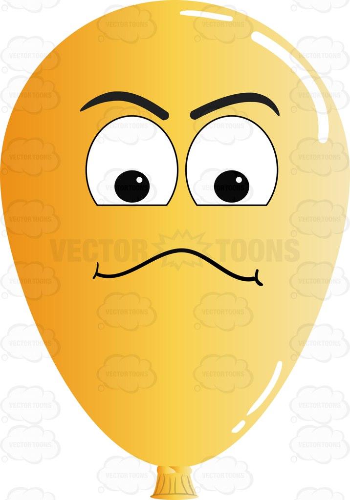 Balloon clipart emoji Examining Emoji Look Look On